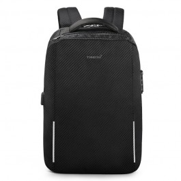 Ανδρικό Backpack LAPTOP Tigernu μαύρο T-B3655