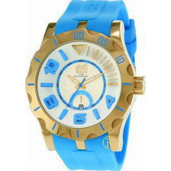 Visetti Light Blue Rubber Strap TI-747GT